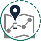 slrOn lokalizacja, mapy