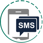 SMS-y trafiają na każdy telefon